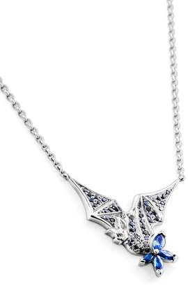 Stephen Webster Jewels Verne White Gold and Sapphires Pendant Necklace