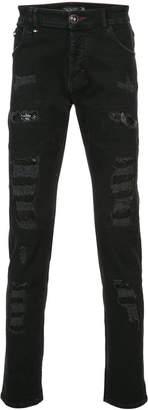 Philipp Plein Nevermind Super Straight Cut jeans