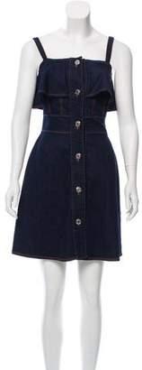 See by Chloe Denim Sleeveless Dress