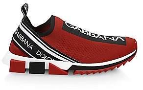 Dolce & Gabbana Men's Sorrento Bassa Maglina Tech Knit Sneakers