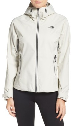 Women's The North Face 'Fuseform' Hooded Waterproof Jacket $199 thestylecure.com