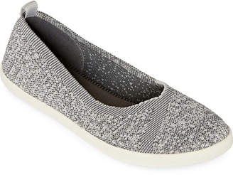 Arizona Womens Perkins Slip-on Closed Toe Ballet Flats