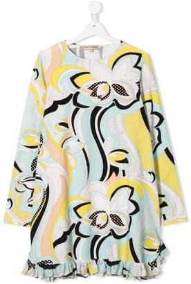 Emilio Pucci Junior TEEN floral print dress