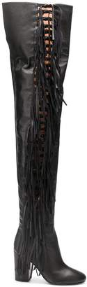 Laurence Dacade tied thigh high boots