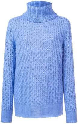 Les Copains oversized turtleneck sweater