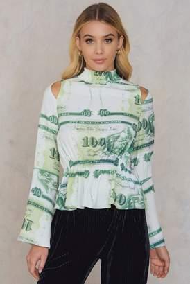 Aéryne Paris Pana Top Money Print