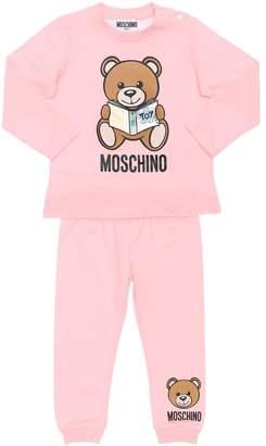 Moschino Printed Cotton Jersey T-shirt & Pants