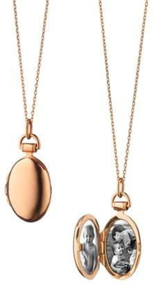 Monica Rich Kosann Anna Petite Locket Necklace