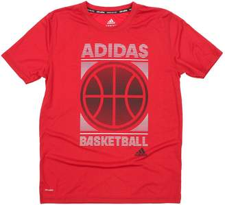 adidas Big Boys Youth Climalite Court Precision Tee