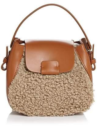 Nico Giani Small Leather & Faux Fur Crossbody