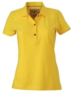 James & Nicholson Women's Polo Ladies Vintage - Maternity Polo Shirt -(Manufacturer size: )