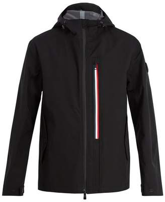 Moncler Brandon Hooded Technical Jacket - Mens - Black