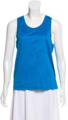 Calvin Klein Collection Sleeveless Scoop Neck Top
