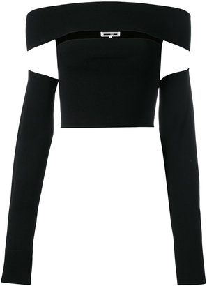 cut-out cropped top