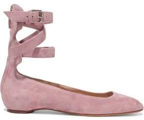 Valentino Suede Ballet Flats