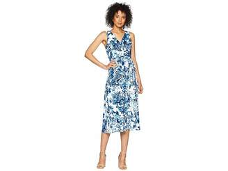 Lauren Ralph Lauren A148 Coco Paisley Cara Sleeveless Day Dress