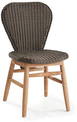 Napa Home All-Weather Side Chair - Espresso/Natural
