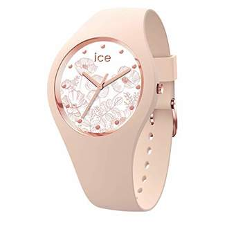 Ice Watch Ice-Watch - Ice Flower Spring Nude - Women's Wristwatch with Silicon Strap - 016670 (Medium)