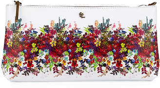 Elliott Lucca Floral Faux-Leather Clutch Bag