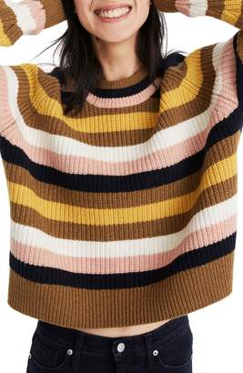 Madewell Tilden Stripe Sweater