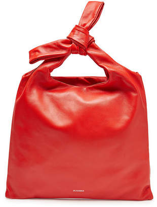Jil Sander Knot Small Leather Tote