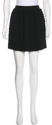3.1 Phillip Lim Ruffle-Tiered Wool Skirt