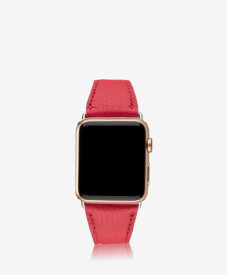 GiGi New York 42mm Apple Watch Band, Azure Pebble Grain