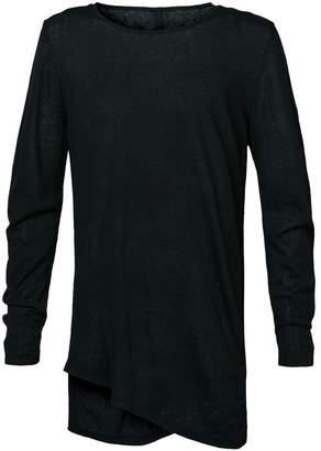 Forme D'expression fine gauge twisted pullover