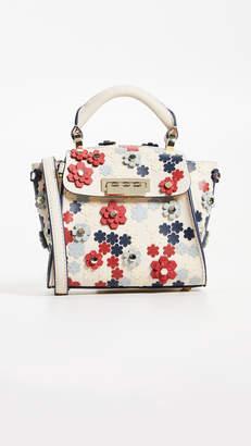 Zac Posen Eartha 3D Printed Mini Top Handle Bag