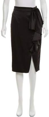 Mark & James by Badgley Mischka by Badgley Mischka Bow-Accented Pencil Skirt