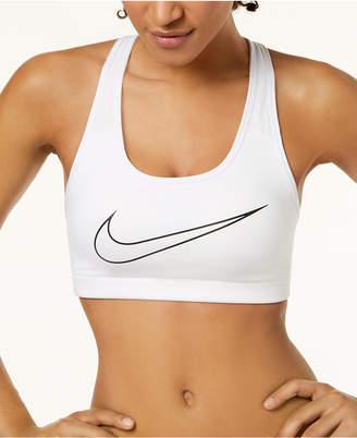 Nike Dri-fit Logo Compression Medium-Support Sports Bra