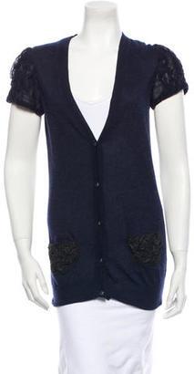 Vera Wang Cashmere Cardigan $130 thestylecure.com