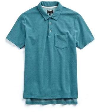 Todd Snyder Terry Polo in Aqua