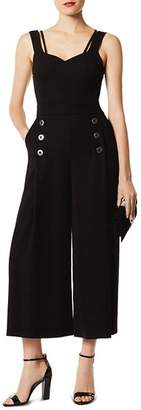 Karen Millen Strappy Wide-Leg Jumpsuit
