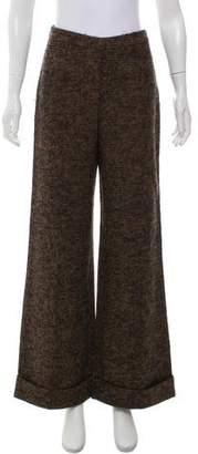Altuzarra Mid-Rise Patterned Pants