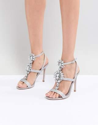 Asos Design DESIGN Vikki Embellished Heeled Sandals