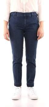 3/4 Jeans IMPETO Hosen Frau blue jeans