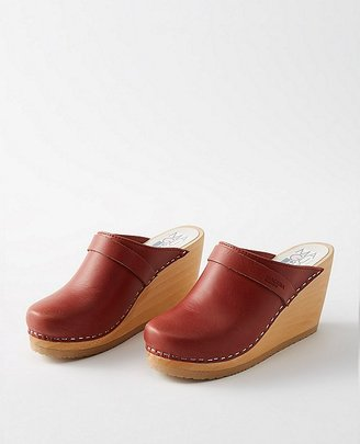 Maguba Women Swedish Wedge Clogs $150 thestylecure.com
