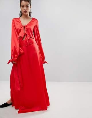 Style Mafia Stylemafia Split Maxi Skirt Co-Ord