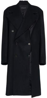 Y/Project Y / Project long sleeve double breasted oversized coat