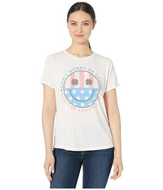 Lucky Brand Don't Worry Be Lucky Tee