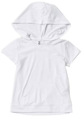 Zella Z by Hooded Short Sleeve Top (Little Girls)