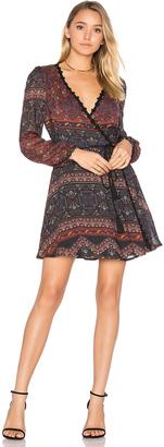 Line & Dot Dakota Wrap Dress $135 thestylecure.com