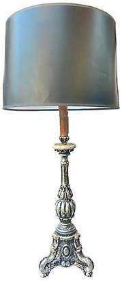 One Kings Lane Vintage Italian Parcel-Gilt Lamp - Antiques on Jackson
