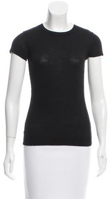 Inhabit Wool Short Sleeve Top w/ Tags $95 thestylecure.com