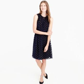 Velvet polka-dot dress $198 thestylecure.com