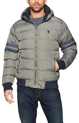 U.S. Polo Assn. Men's Big and Tall Classic Short Bubble Jacket