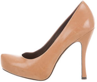 Vera Wang Pointed-Toe Platform Pumps $70 thestylecure.com