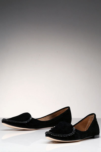 Dolce Vita Sally Suede Loafer in Black