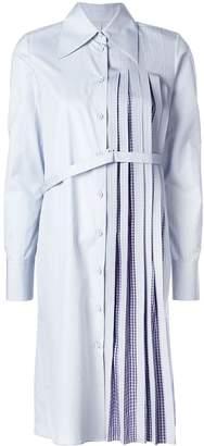 Maison Margiela pleated shirt dress